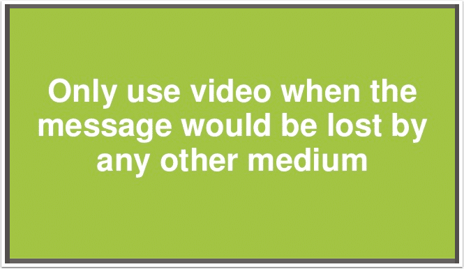 guiding-princple-for-using-video