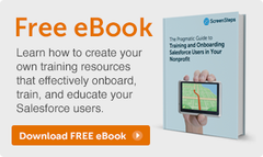 Free eBook: The Pragmatic Guide to Training and Onboarding Salesforce Users in Your Nonprofit